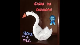 getlinkyoutube.com-CISNE DE PAPEL... FÁCIL!!!