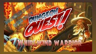getlinkyoutube.com-Dungeon Quest lv99 Whirlwind Warrior Build - Proof of concept