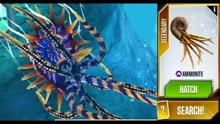 getlinkyoutube.com-AMMONITE MAXED - Jurassic World The Game - Aquatic Park Update