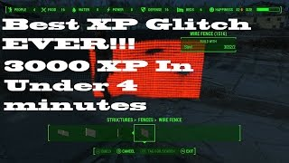 getlinkyoutube.com-FallOut 4 - Best XP Glitch EVER!! (3000 XP in 4 min)