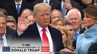getlinkyoutube.com-The 58th Presidential Inauguration of Donald J. Trump (Full Video)  | NBC News