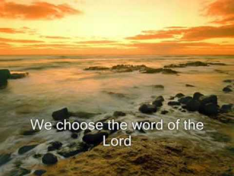 We Choose The Fear of The Lord - Maranatha Singers -prh5L-yB6GM