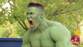 Incredible Hulk Prank! Featuring John Cena!