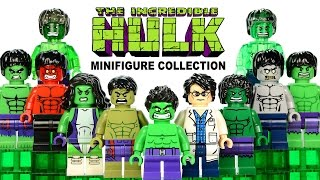 Every Incredible Hulk™ Minifigure Collection I Have LEGO® Marvel Super Heroes