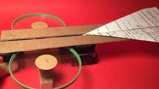 getlinkyoutube.com-How To Make A Fun Paper Planes Launcher - DIY  Tutorial - Guidecentral