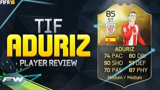 getlinkyoutube.com-FIFA 16 TIF ADURIZ Review (85) w/ In Game Stats & Gameplay