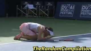 getlinkyoutube.com-Drama In Women Tennis Compilation Part 4