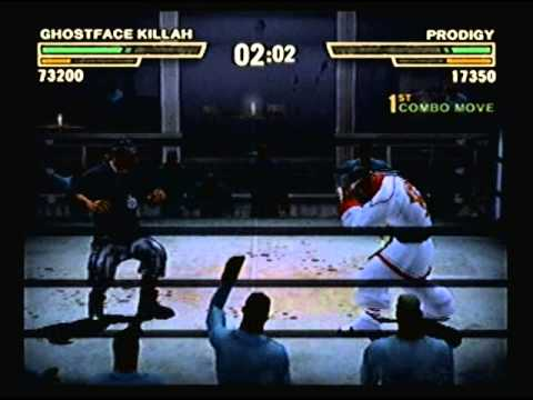 Def Jam Fight for NY - Ghostface Killah vs Prodigy