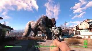 getlinkyoutube.com-Fallout 4 - King Kong Attacks Sanctuary