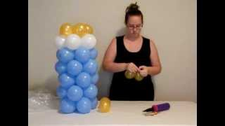 getlinkyoutube.com-How to make balloon baby bottle
