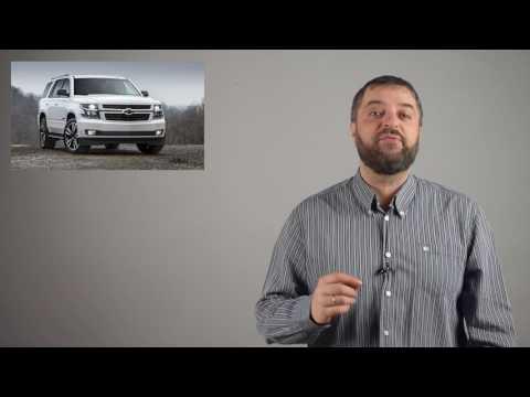 Внедорожники Chevrolet Tahoe и Suburban получили пакет RST