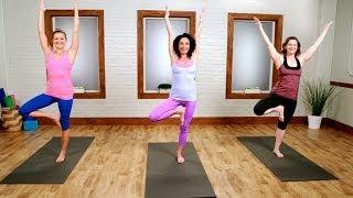 getlinkyoutube.com-Day 21: Yoga Workout For the Ultimate Bikini Body | Class FitSugar