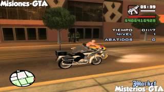 getlinkyoutube.com-GTA San Andreas Vehiculos únicos al comienzo del juego - Mision del vigilante