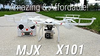 getlinkyoutube.com-MJX X101 - Quadcopter -$52- Unboxing & Review  - Action Camera Ready - Best of 2015 - Geekbuying.com
