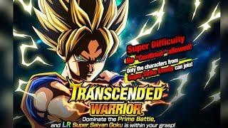 getlinkyoutube.com-TRANSCENDED WARRIOR: LR Super Saiyan Goku Super Difficult: 50 Stamina Event!