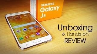 getlinkyoutube.com-Samsung GALAXY J5 Unboxing & Hands on Review-All in one! (ft Moto G3)