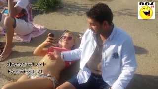 getlinkyoutube.com-La plajă pe gârla cu burta la soare | Râs TV |