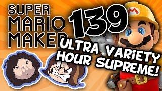 getlinkyoutube.com-Super Mario Maker: Metroid Mario Mayhem - PART 139 - Game Grumps