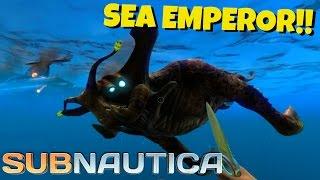 getlinkyoutube.com-Subnautica Gameplay | SEA EMPEROR!! | EXPERIMENTAL (HD 60FPS)
