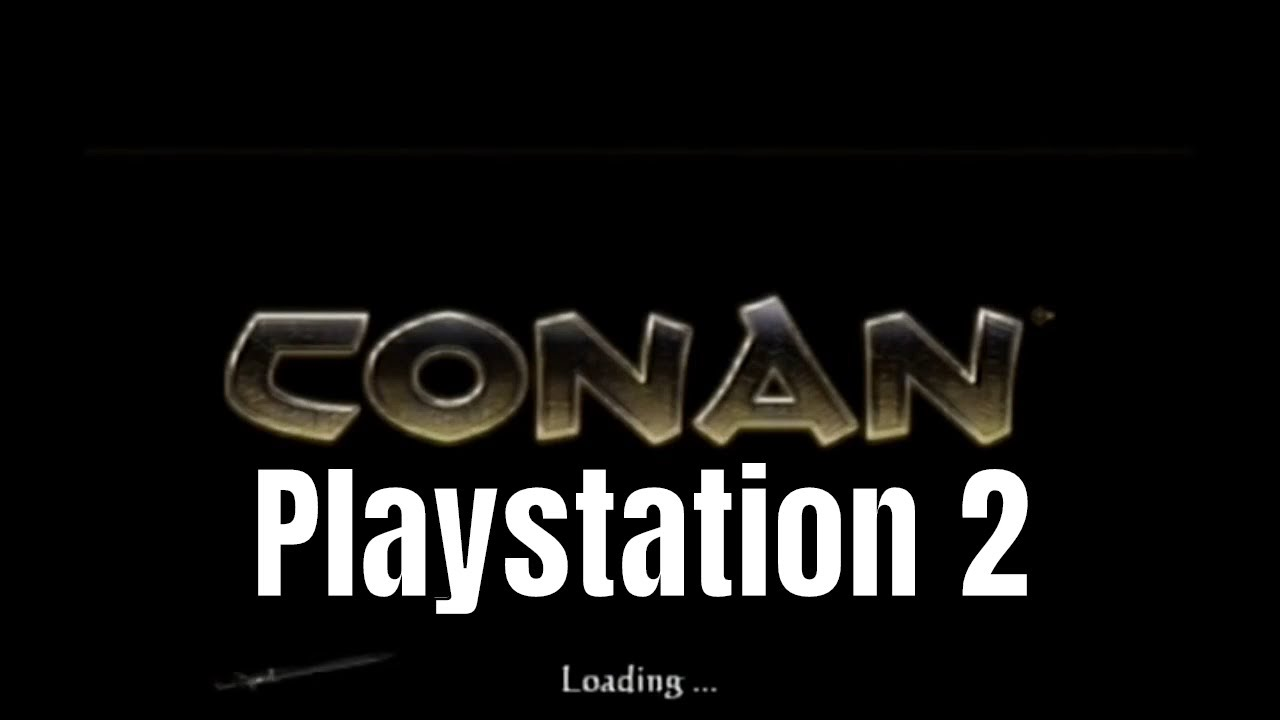 Conan Playstation2 (PS2) Gameplay