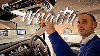 getlinkyoutube.com-Rolls Royce Wraith - The driver's RR