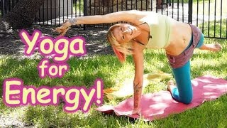 getlinkyoutube.com-20 Minute Yoga Workout for Energy, Beginners Home Morning Routine How to , Pain Relief & Flexibility