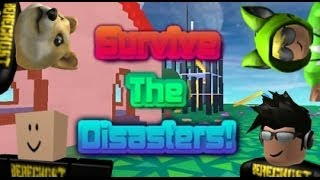 getlinkyoutube.com-Family Game Nights Plays: Roblox - Survive the Disasters