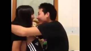 getlinkyoutube.com-Japan Most Popular High School Student Kiss