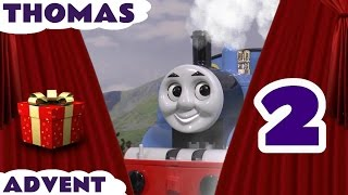 getlinkyoutube.com-Thomas and Friends Christmas Advent Calendar Surprise Toys Jingle Bells Fun Day 2 ToyTrains4u