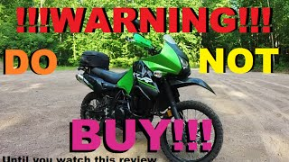 getlinkyoutube.com-DO NOT BUY A KLR650!!! Until You See This Highway & Off Road KLR650 Review!