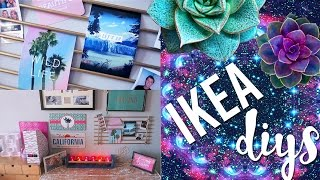 getlinkyoutube.com-DIY Room Decor Using IKEA Homeware | Pinterest and Tumblr Inspired