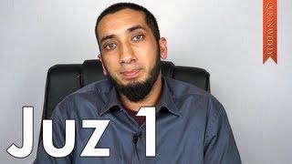 Take Allah's Commands Seriously [Juz 1] - Nouman Ali Khan width=