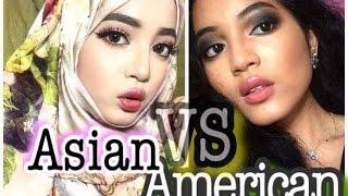 getlinkyoutube.com-Malaysian VS Western Makeup | Asian Makeup Trends | Makeup Tutorial