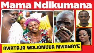 MAGAZETI TANZANIA: MAMA NDIKUMANA AWATAJA WALIOMUUA MWANAYE!`1
