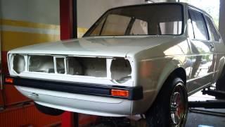 getlinkyoutube.com-VW Golf Mk1 R32 pepper white full story 2012 - 2014