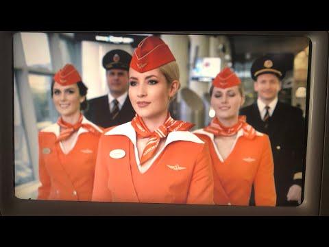 На Аэрофлоте из США в Россию...