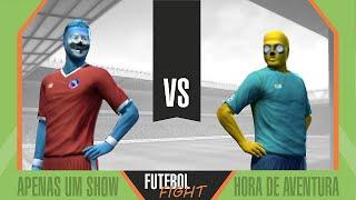 getlinkyoutube.com-Apenas um Show vs Hora de Aventura - Futebol Fight