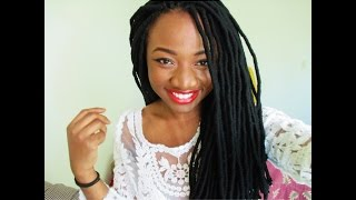 DETAILED Tutorial: How to do Faux Yarn Dreads/Locs