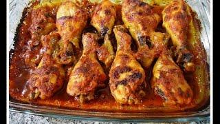 getlinkyoutube.com-Piernitas de Pollo Horneadas, recetita deliciosa y facilita