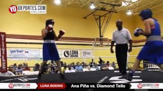 Ana Pina vs. Diamond Tello Joliet Luna Boxing 2015