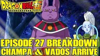 Dragon Ball Super - Episode 28 Preview + Episode 27 The 6th Universe's God of Destruction, Champa!