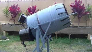 getlinkyoutube.com-How to build a 55 gal concrete mixer.