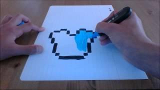 getlinkyoutube.com-DESSIN MINECRAFT - EPISODE 10 - LE PLASTRON EN DIAMS !!!!!