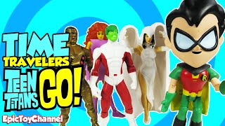 """getlinkyoutube.com-TEEN TITANS GO! Parody """"Time Traveling Teen Titans"""" with Old School Teen Titans by Epic Toy Channel"""