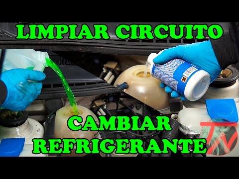 Limpiar circuito radiador y cambiar liquido refrigerante????????