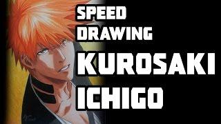 getlinkyoutube.com-Speed Drawing - Kurosaki Ichigo