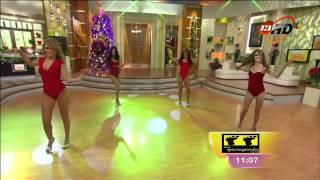 """getlinkyoutube.com-Full HD ¡El ballet de venga la alegría bailando! """"Kumbia Ladies"""""""