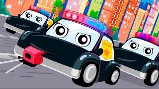 getlinkyoutube.com-Мультики про машинки.Полицейские машинки Мультик песня Видео для детей Анимашка. Учим цвета песенка