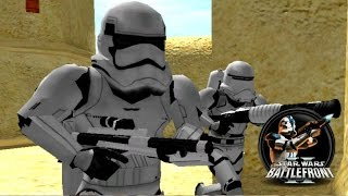 getlinkyoutube.com-Star Wars Battlefront II Mods (PC) HD: Galactic Civil War II (1.0) - Mos Eisley | The Force Awakens