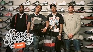 Sneaker Shopping with Migos | Complex